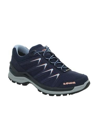 Lowa 3207096959 Innox Pro Gtx Low Yağmur Suyuna 8 Saat, Kar Suyuna 3 Saat Kadar Dayanan Kadın Ayakkabısı Lacivert